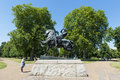 London uk august horse and rider sculpture called physica physical energy in kensington gardens the statue commemorates sir cecil Royalty Free Stock Images