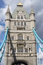 London uk august tower bridge in london on august Royalty Free Stock Images