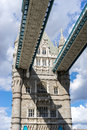 London uk august tower bridge in london on august Stock Photo