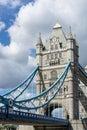 London uk august tower bridge in london on august unidentified people Royalty Free Stock Image