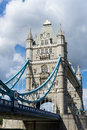 London uk august tower bridge in london on august unidentified people Stock Image