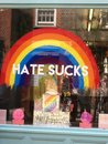 stock image of  London, UK, July 7, 2015 London Pride Store Front