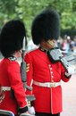 London uk july soldier of the royal guard july in london Royalty Free Stock Photo
