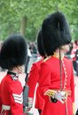 London uk july soldier of the royal guard july in london Royalty Free Stock Images