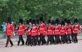London uk july soldier of the royal guard july in london Stock Images