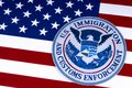 US Immigration and Customs Enforcement Royalty Free Stock Photo
