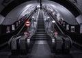 London Underground Station Royalty Free Stock Photo