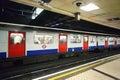 London underground train Royalty Free Stock Photography