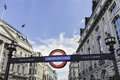 London underground united kingdom march an subway station entrance at piccadilly circus in uk the the Royalty Free Stock Image