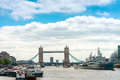LONDON, UNITED KINGDOM - June 21, 2016. Street view of Beautiful Royalty Free Stock Photo
