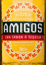 LONDON, UNITED KINGDOM - MARCH 23, 2017: Bottle label of Amigos Tequila Beeron white. A beer brewed by the Fischer brewery. Royalty Free Stock Photo