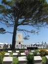 Lone Pine ANZAC memorial, Gallipoli. Royalty Free Stock Photo