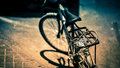 Loneliness picture of a bicycle captured to portray and longing Royalty Free Stock Photos