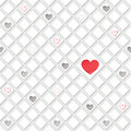 Lonely hearts concept texture love seamless background st valentine day pattern abstract tiles Stock Photos