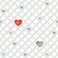 Lonely hearts concept texture love seamless background st valentine day pattern abstract tiles Stock Photo
