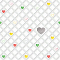Lonely hearts concept texture love seamless background st valentine day pattern abstract tiles Stock Image