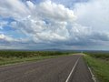 Lonely Texas Road Royalty Free Stock Photo