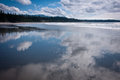 Long beach pacific rim national park on vancouver island Stock Photos