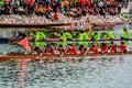 Long boat het rennen Royalty-vrije Stock Afbeelding