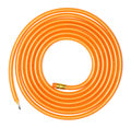 Long Coiled Flexible Pencil Royalty Free Stock Photos