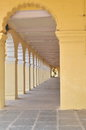 The Long Corridor. Royalty Free Stock Photos