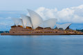 Long exposure Sydney Opera House Royalty Free Stock Photo