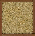 Long grain brown rice background Royalty Free Stock Image
