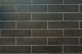 Long Gray Tiles with White Grout Royalty Free Stock Photo