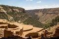 Long House ruin Mesa Verde CO Royalty Free Stock Photo