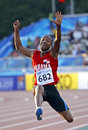 Long jump panama bowen Stock Images