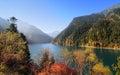 Long Lake at the Jiuzhaigou National Park in Sichuan, China Royalty Free Stock Photo