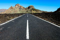 Long Lonely Road Royalty Free Stock Photo