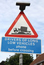 Long Low Vehicles Sign Stock Photos