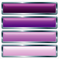 Long metallic violet Stock Image