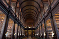 The long room in the trinity college library dublin ireland feb on feb dublin ireland is largest Royalty Free Stock Photography