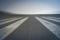 Long runway Royalty Free Stock Photo