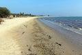 Long sandy beach Studland Dorset England UK Royalty Free Stock Photo