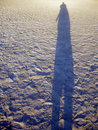 Long Shadow Royalty Free Stock Photo