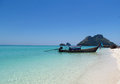 Long tail boats in Krabi Beaches and Islands Thailand Royalty Free Stock Photo