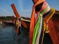 image photo : Long tailed boat