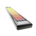 Long tv remote isolated on white Royalty Free Stock Photos