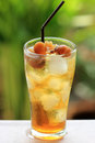 Longan cold water for fresh Stock Photos