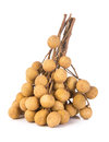 Longan fruit on a background fresh the Royalty Free Stock Images