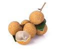 Longan fruit on a background fresh the Royalty Free Stock Photo