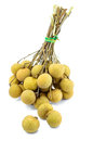 Longan, thai fruit. Royalty Free Stock Image