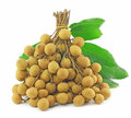 Longan Thai fruit Stock Photography