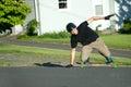 Longboarder Trick Slide