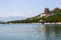 Longevity hill kunming lake summer palace beijing china Stock Photo