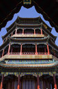 Longevity Hill Tower Summer Palace Beijing Stock Images