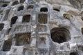 Longmen Grottoes Caves Royalty Free Stock Photo